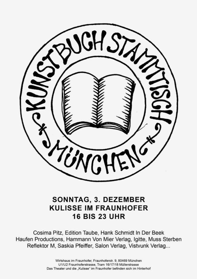 KUNSTBUCHSTAMMTISCH_PLAKAT